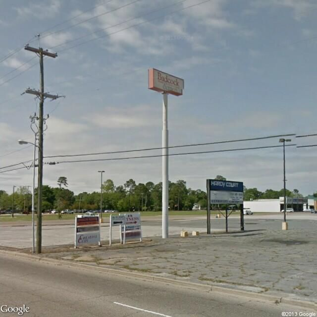Instant Google Street View   576-598 Courthouse Road, Gulfport, MS 39507, USA. Church's and Hardy Court Cinema was once in the background pre-Katrina.