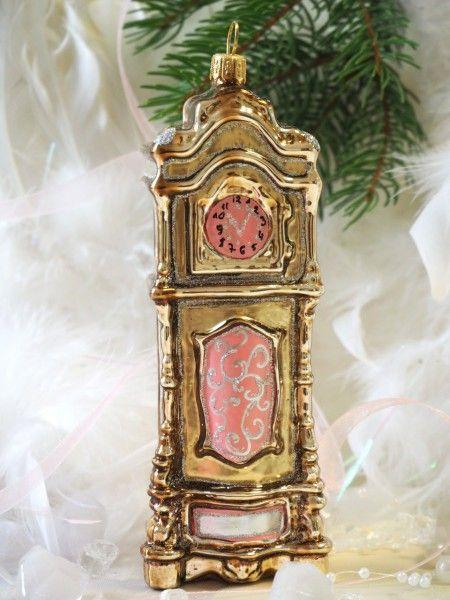 Uhr Madchen Rosa Glas Christbaumschmuck Christbaumschmuck Aus Glas