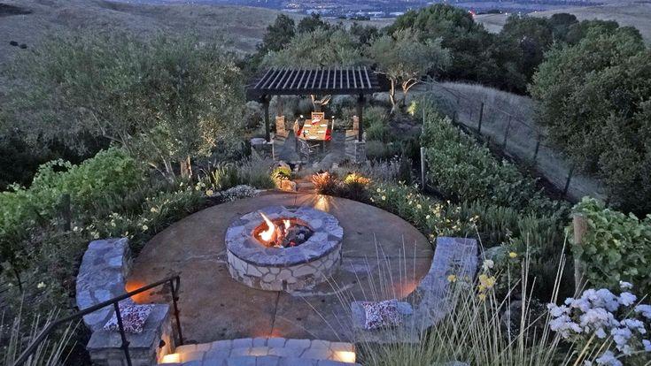 41 best Incline Landscape Ideas images on Pinterest ... on Inclined Backyard Ideas id=56441