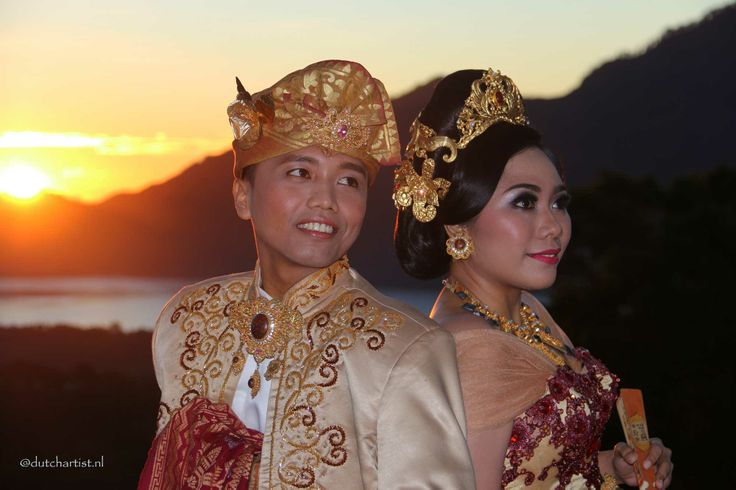 Wedding in Kintamani mountains Bali