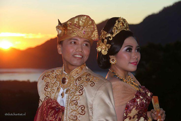 Wedding in Kintamani mountains Bali