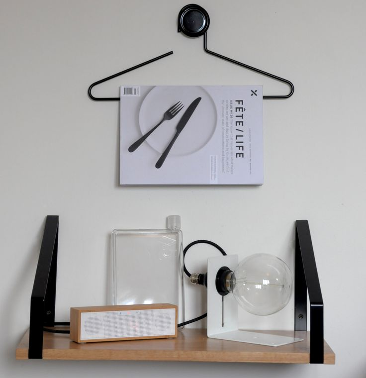 Nook light and Hikurangi shelf from icotraders.co.nz