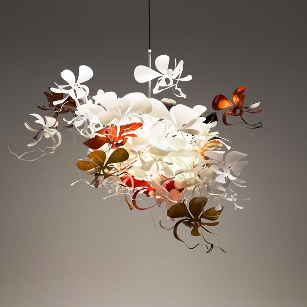 whimsical lighting fixtures. Orchid Light By Marc Pascal Whimsical Lighting Fixtures O