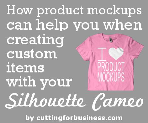 In my last post, I shared a tutorial on how to use Silhouette Studio to create product mockups to help stock your store. Product mockups can also be used when you create custom items for your customers. Sometimes as crafters, it is difficult to get our ideas across to non-crafters. The next time you are …