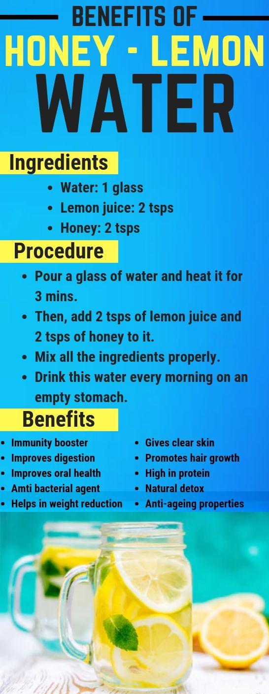 Honey Lemon Water – A Miracle Drink To Get Healthy Body & Beautiful skin