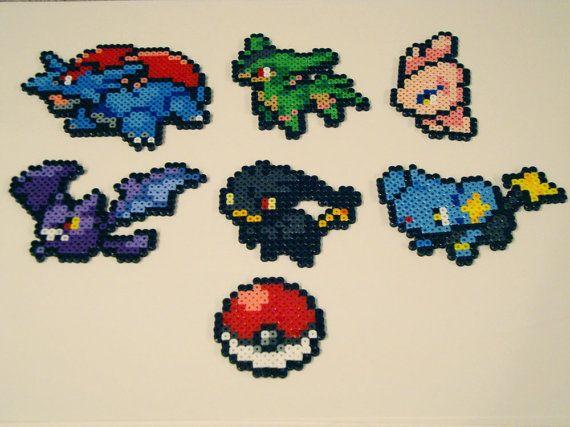Pokemon Bead Sprite Set Make Your Own Pokemon por ToughTurtles