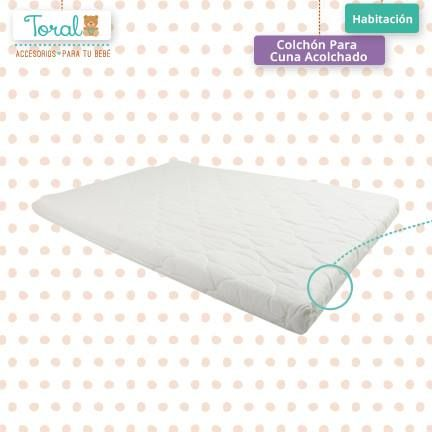 Nuestra línea de colchones esta diseñada para que tu bebé se sienta acunado, seguro y cómodo a la hora de dormir. TORAL ¡Le damos la bienvenida a la vida!