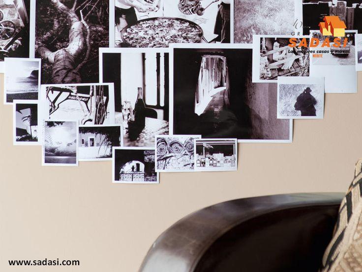 #decoracion LAS MEJORES CASAS DE MÉXICO. Una de las mejores formas de decorar habitaciones como dormitorios o estudios es con fotos, las cuales pueden no necesitar marcos, sino simplemente estar impresas en papel y colocarlas en las paredes como si se tratara de un collage. En Grupo Sadasi contamos con diferentes prototipos de vivienda, para que elija el que más se adapte a sus requerimientos. informes@sadasi.com