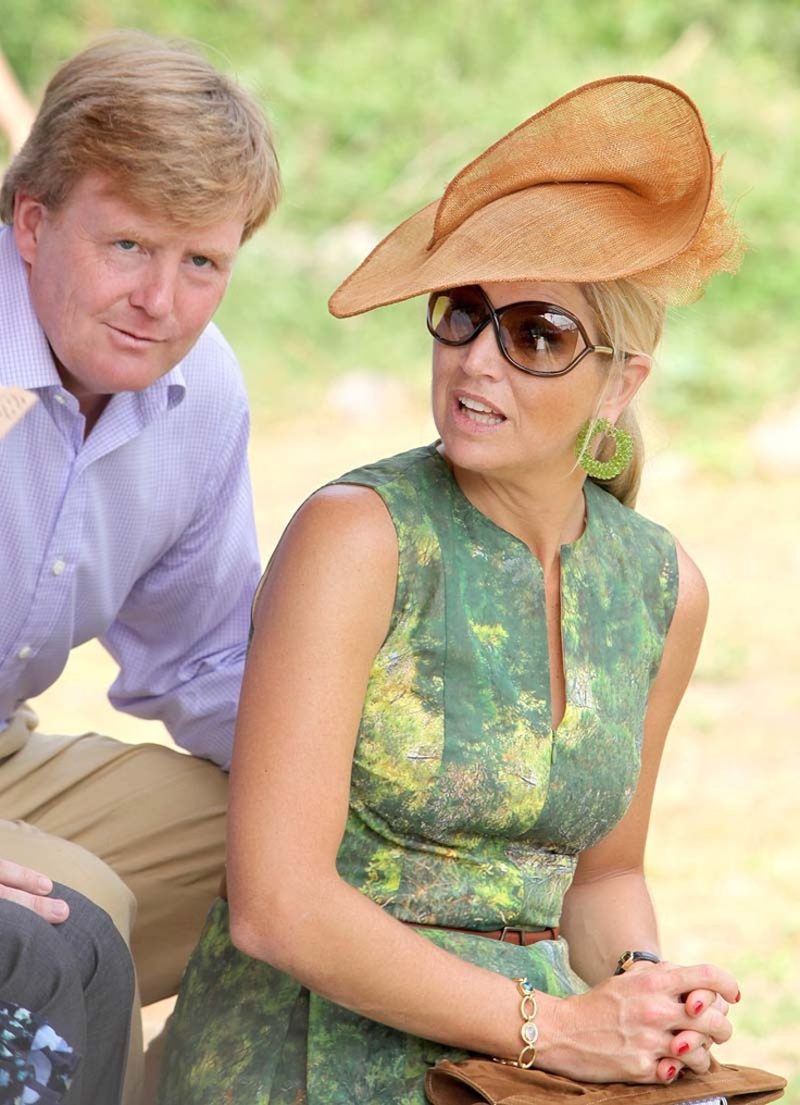 Stunning photo of King Willem-Alexander and Queen Maxima of the Netherlands