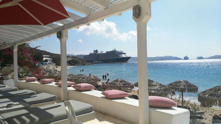 St Agios Stefanos beach Mykonos