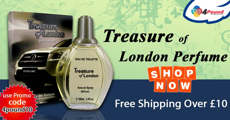 Get Best Deals on #Perfumes at #Low_cost #4pound.co.uk Shop Now : http://www.4pound.co.uk/treasure-of-london