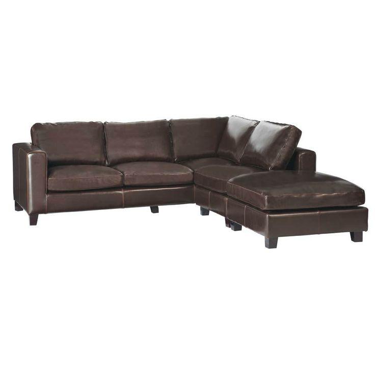 oltre 25 fantastiche idee su divano ad angolo su pinterest ... - Moderno Ampio Angolo Divano In Pelle A 5 Posti