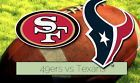 #Ticket  1st Row!!  San Francisco 49ers vs. Houston Texans (Preseason) August 14 2016 #deals_us