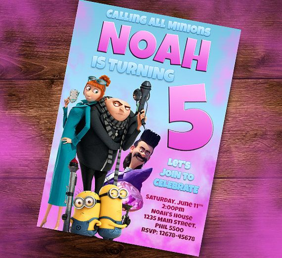 29 best Birthday Invitation Cards, Kids Party Invite images on - best of birthday invitation card write up