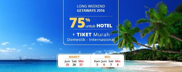 Promo Long Weekend http://goo.gl/uieGd6
