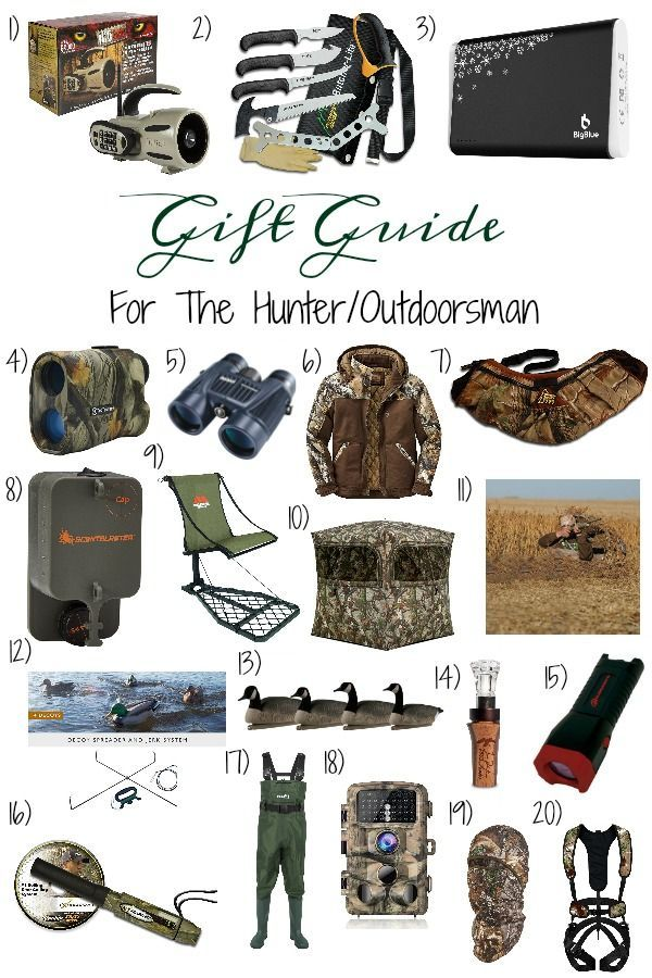 Gift Guide For The Hunter Outdoorsman You Will Be Sure To Find A Gift That Your Special Someone W Dad Gift Guide Cute Boyfriend Gifts Christmas Gifts For Boys