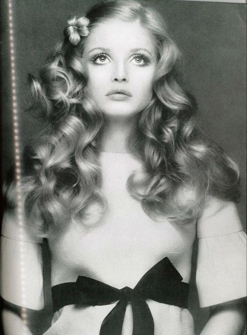 1970s hair & make up inspiration from Ewa Aulin, Vogue 1970