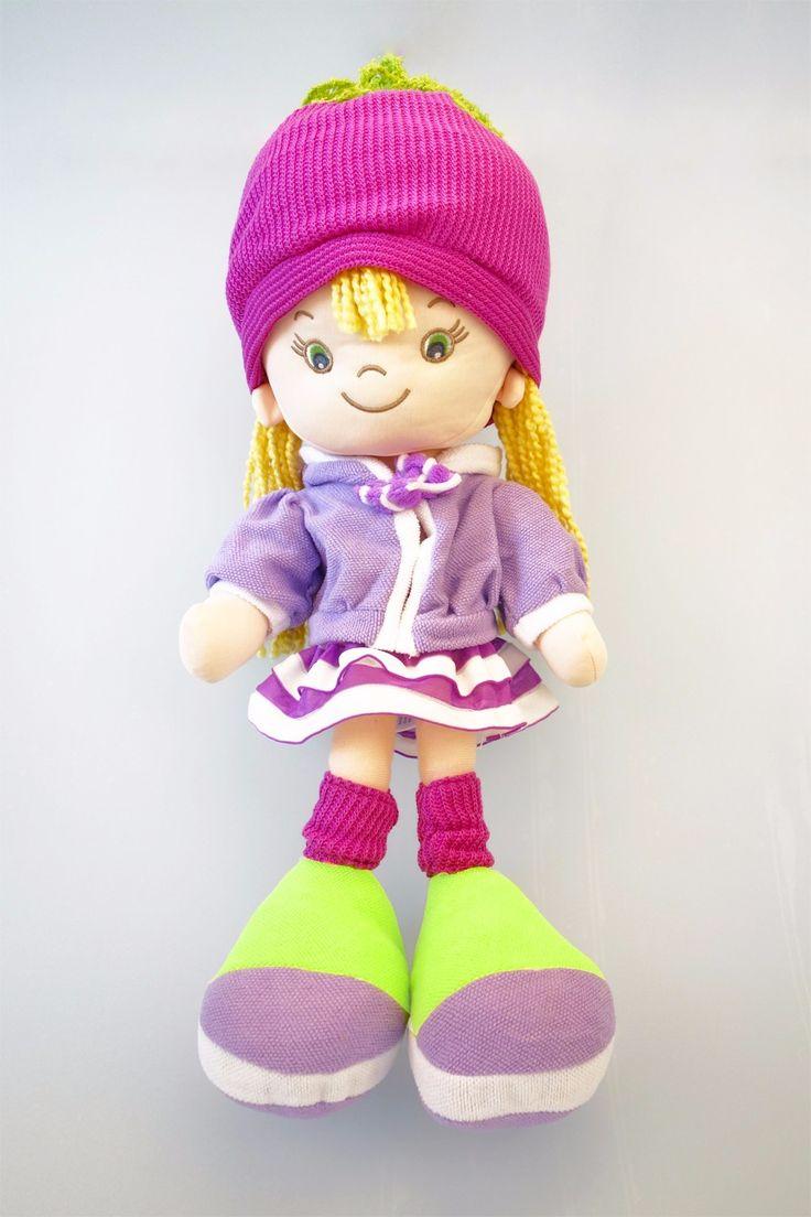В. Грейс новые красивые куклы высокое качество ручной игрушки для девочки 18 дюймов фиолетовый мода куклы мягкая и плюшевые куклы купить на AliExpress