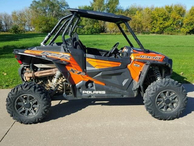Salvage 2015 Polaris Rzr Xp 1000  Atv For Sale | Salvage Title