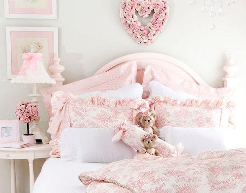 Sweet girls bedroom.: Little Girls, Shabby Chic, Kids Room, Girls Bedroom, Dream Room, Pink Bedrooms, Girl Rooms, Bedroom Ideas