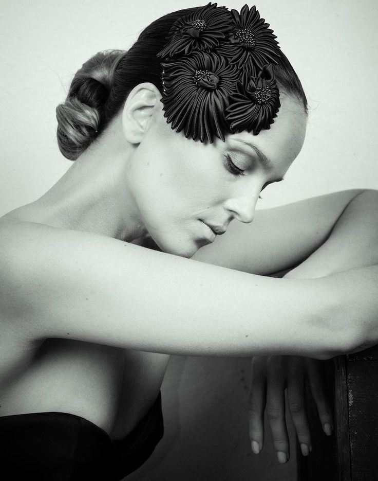 Couture headpiece by www.parantparant.se