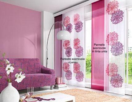 Pi di 25 fantastiche idee su tende a pannello su pinterest tende mezze finestra arredamento - Tende colorate ikea ...