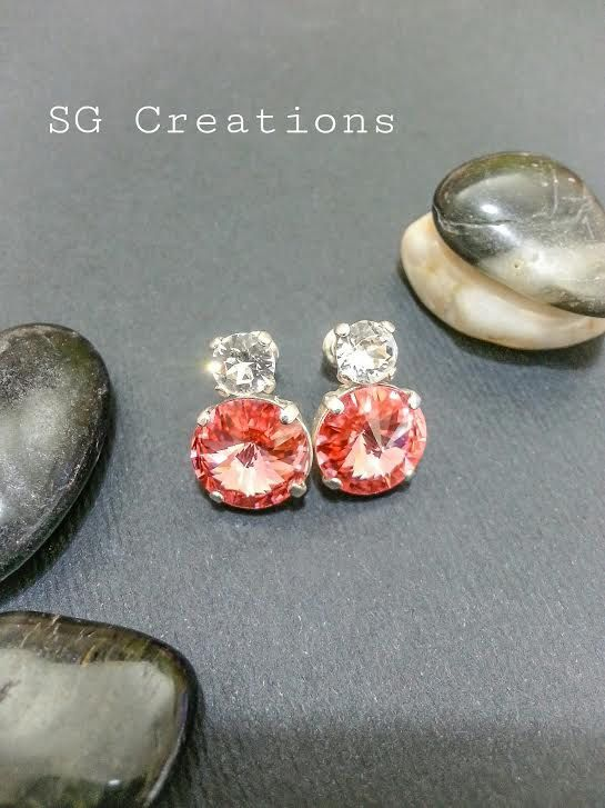 Earrings Sissi. di SGCreationsAndArts su Etsy