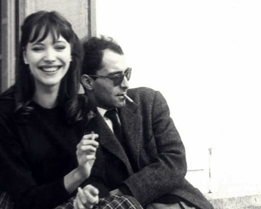 """I don't think you should feel about a film. You should feel about a woman, not a movie. You can't kiss a movie."" -Godard"