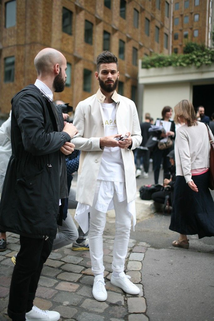 They Are Wearing: Paris Men's Fashion Week Spring 2014 - Slideshow - WWD.com