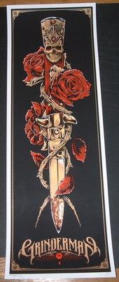Grinderman Nick Cave Melbourne Concert Tour Poster Print Ken Taylor Art s N | eBay