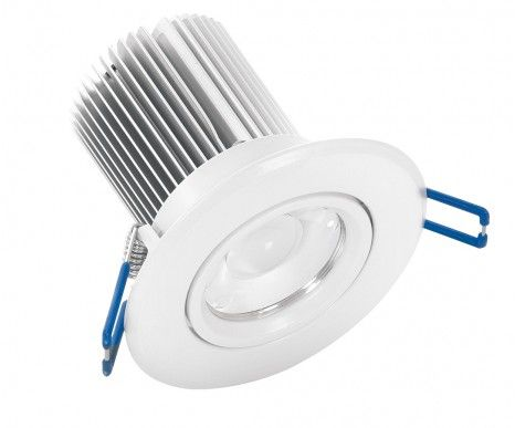 LEDlux Tone 6w Warm White LED Downlights throughout