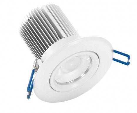LEDlux Tone 6w Warm White LED Downlights throughout