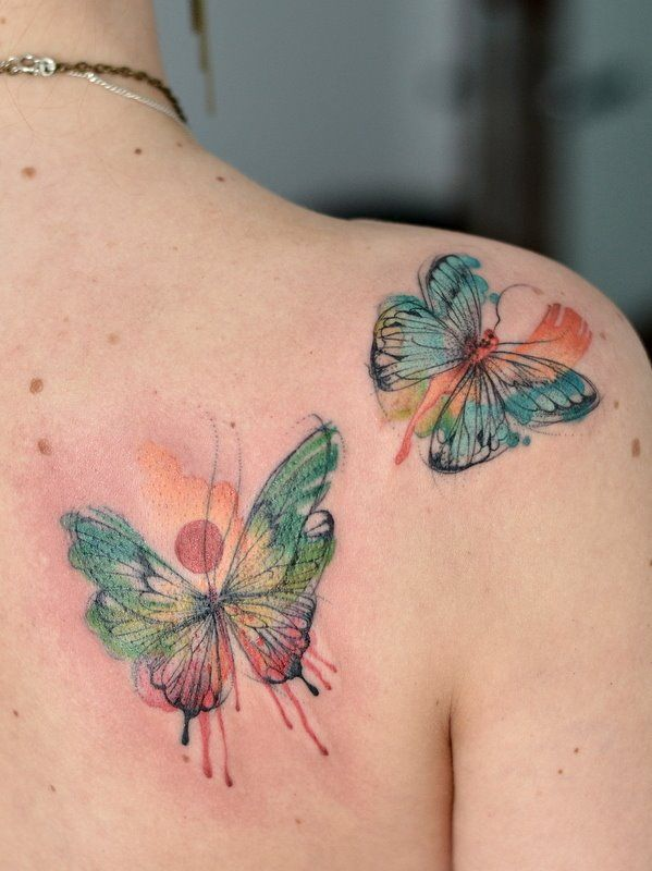 butterfly by yadou.deviantart.com on @DeviantArt