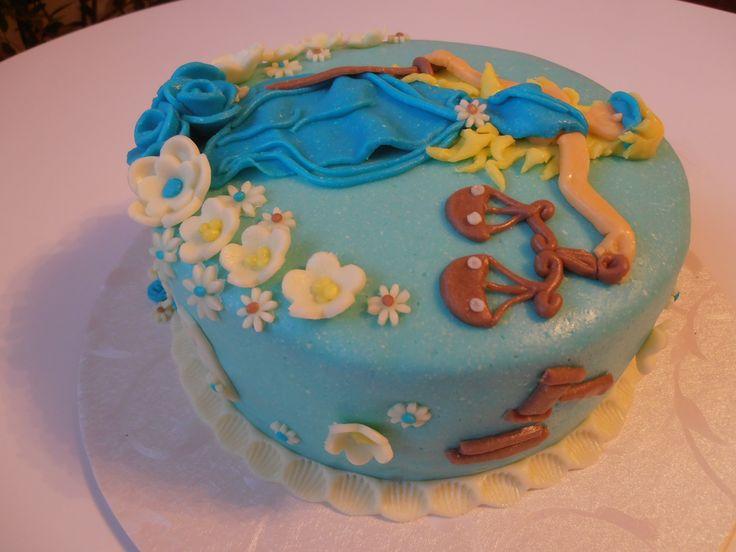 bohyně spravedlnosti dort