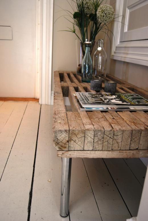 Nyinköpt TV-bänk används som hallmöbel | Angelica | inspiration från IKEA