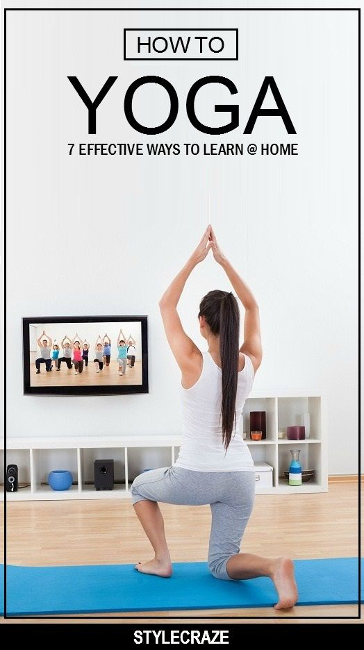 Yoga is a great way to keep your body fit and your mind calm. Here are 7 effective ways on how to learn yoga at home at your convenience. Read on to know more #yoga