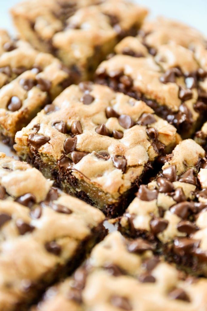 Chocolate Chip Cookie Bars Recipe Easy Chocolate Chip Cookies