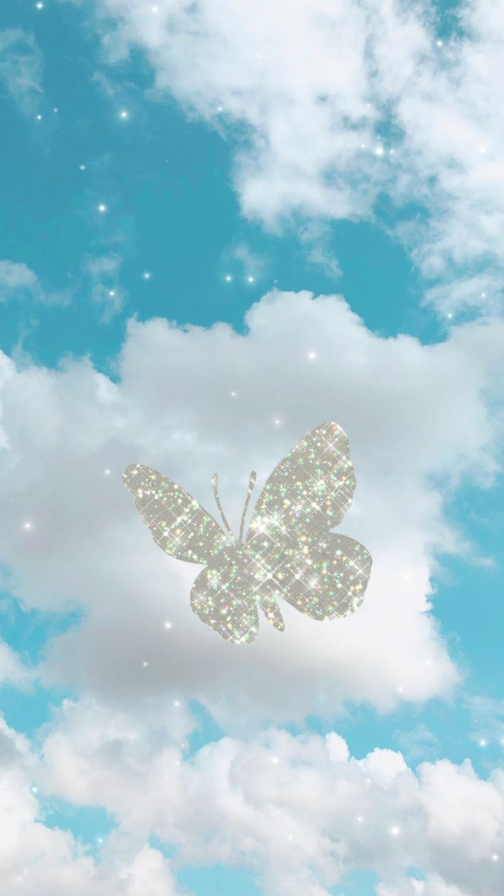 720x1280 aesthetic cartoon wallpapers posted by zoey tremblay> butterfly wallpaper in 2020 | Butterfly wallpaper