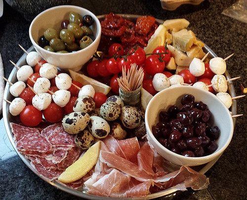 italiaanse antipasti