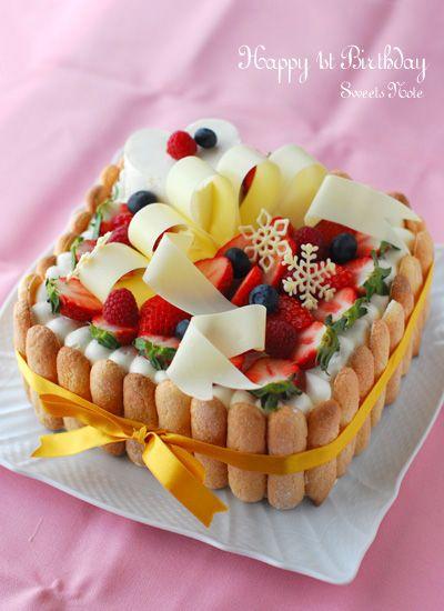 デコレーションケーキ : Sweets Note