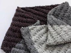Tutorial fai da te: Come fare una sciarpa ad anello a maglia da uomo via DaWanda.com