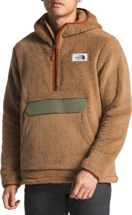 bea53016c0a3 The North Face Men s Campshire Pullover Fleece Hoodie Vintage White ...
