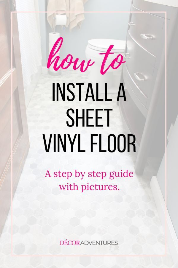 How To Install Sheet Vinyl Floor Vinyl Flooring Vinyl Flooring