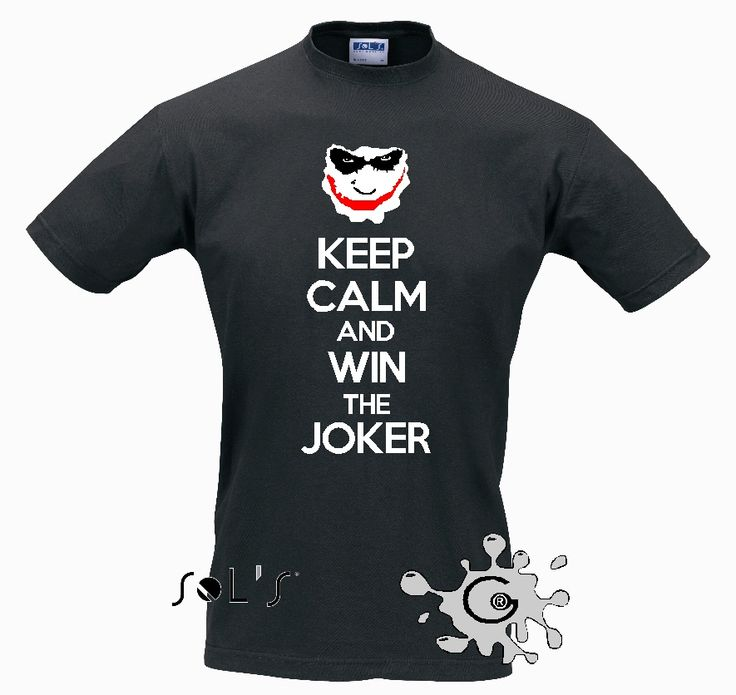 Keep Calm and win the joker! Jack Pot!