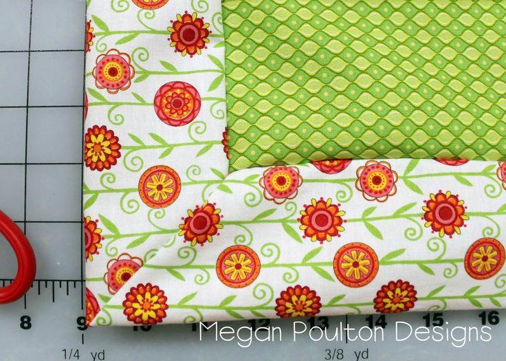 Self-Binding Blanket Tutorial (Regular and scalloped edges). The scalloped edge looks fun!