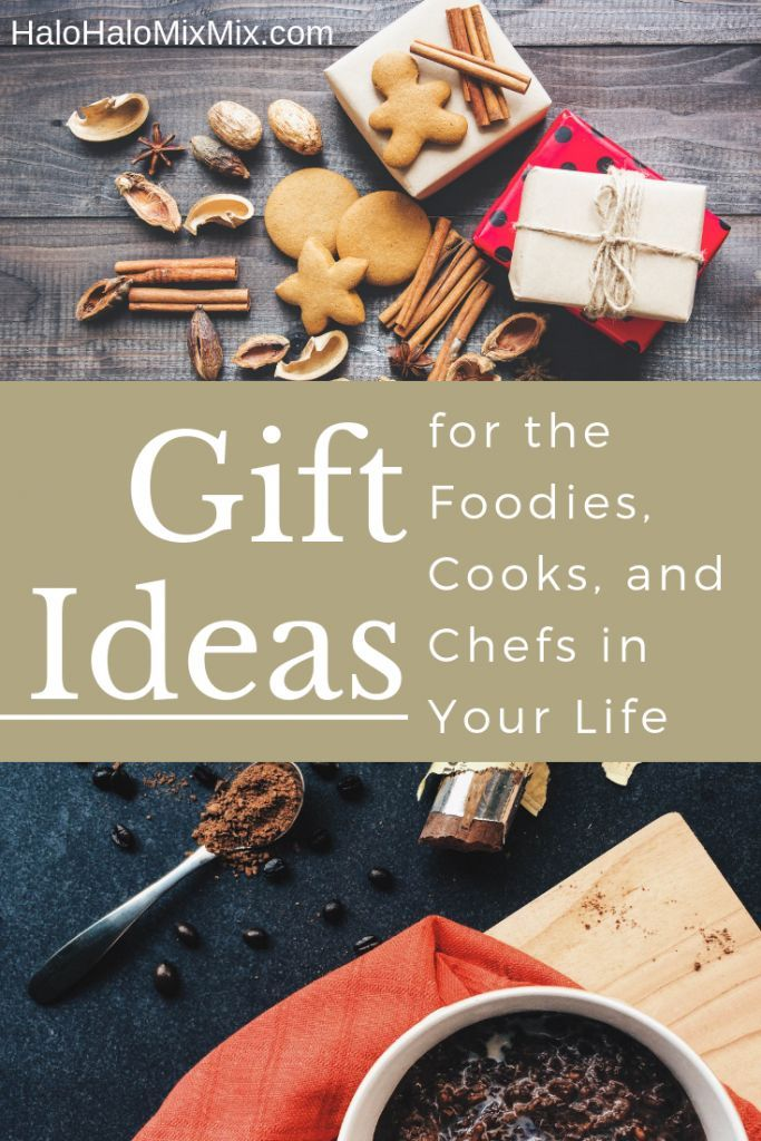Gift Ideas - Foodies, Cooks, and Chefs Food/Recipes in 2018
