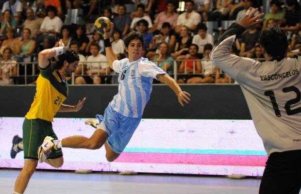 Copa Desafío 2010 - Argentina vs Brasil en el Luna Park.