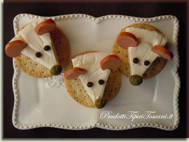Topolini formaggini | Ricetta