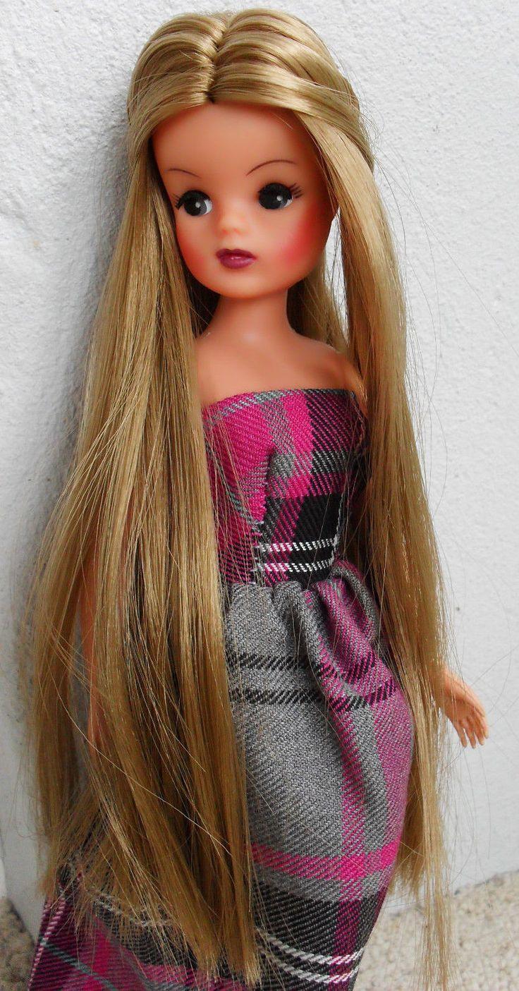 Find great deals on ebay for barbie hair extensions doll barbie light -  Unique Vintage Sindy Doll Reroot Ooak Tamara