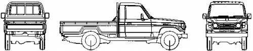 Cool Toyota  Land Cruiser 2017: Toyota Land Cruiser 70 Pick-up (1986)...